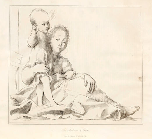 OTTLEY (WILLIAM YOUNG) The Italian School of Design: being a Series of Fac-similes of Original Drawings, by the Most Eminent Painters and Sculptors of Italy, 1823