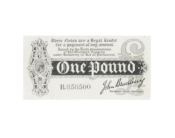 Treasury, John Bradbury,