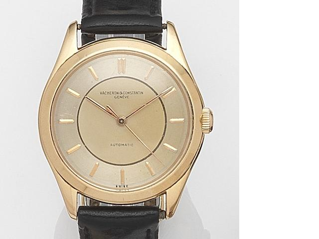 Vacheron & Constantin. An 18ct gold automatic wristwatch Circa 1955