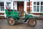 1904 De Dion Bouton 8hp Rear-entrance Tonneau  Chassis no. 78 Engine no. 14225
