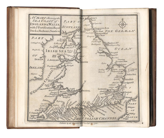 BADESLADE (THOMAS) and WILLIAM HENRY TOMS. Chorographia Britanniae, or a New Set of Maps of all the Counties in England and Wales, [c.1749]
