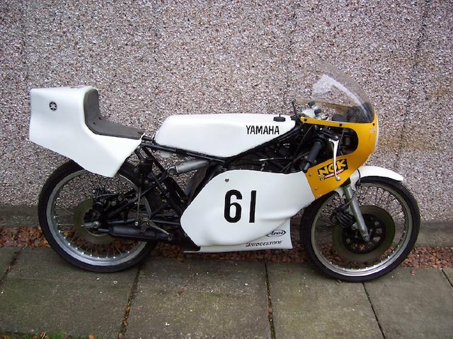 c.1980 Yamaha TZ125G Racing Motorcycle Frame no. 3V3-000270