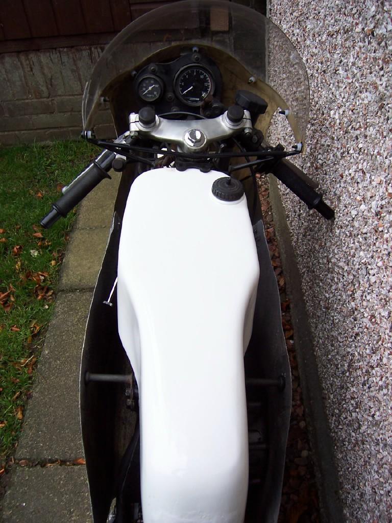 c.1980 Yamaha TZ125G Racing Motorcycle Frame no. 3V3-000270