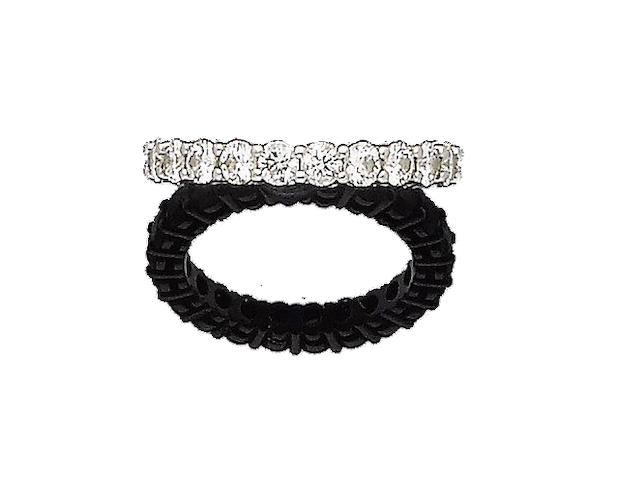 A diamond eternity ring, by Tiffany & Co.
