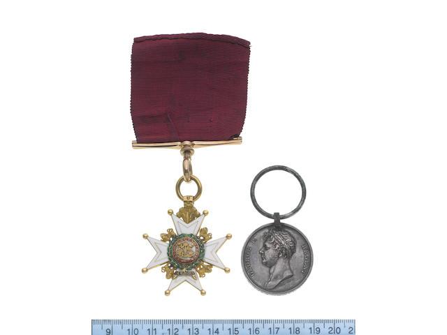 A Waterloo C.B. Pair to Major H.Kuhlmann, King's German Legion,