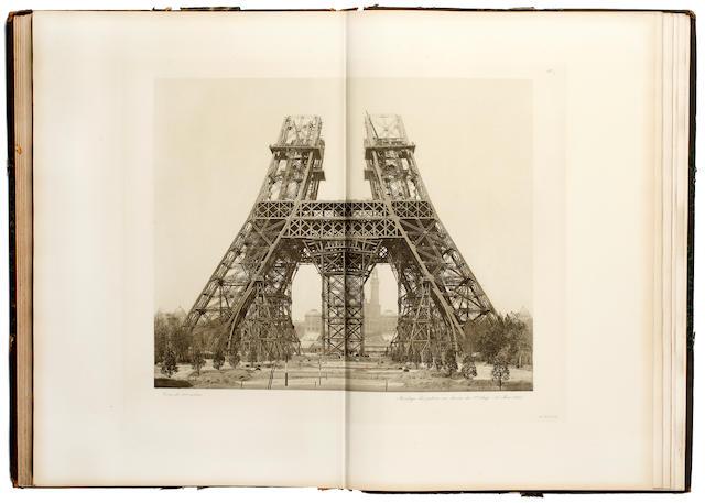 EIFFEL (GUSTAVE) La tour de trois cents metres, 1900