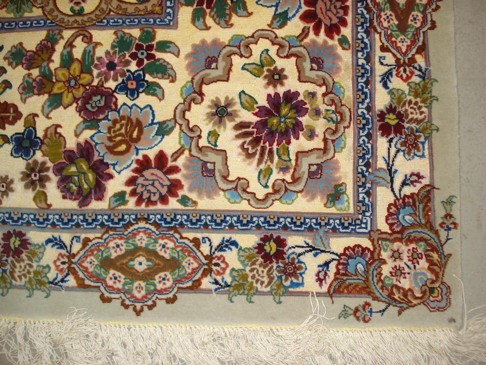 A Tabriz souf carpet, North West Persia, 394cm x 297cm