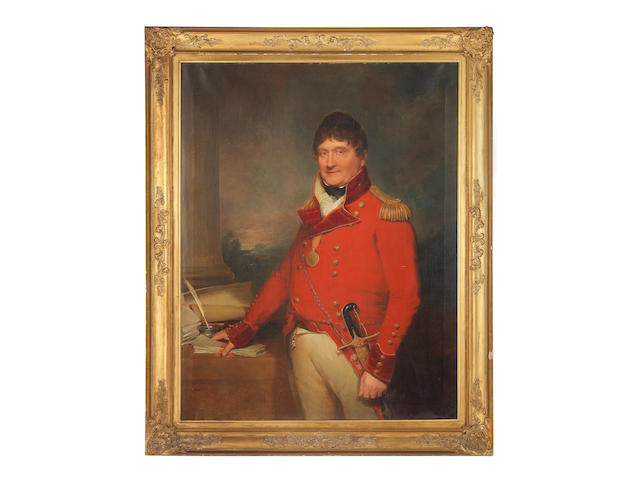 A Rare And Historic Portrait Group Relating To Inspector General Thomas Young (1753?-1836)