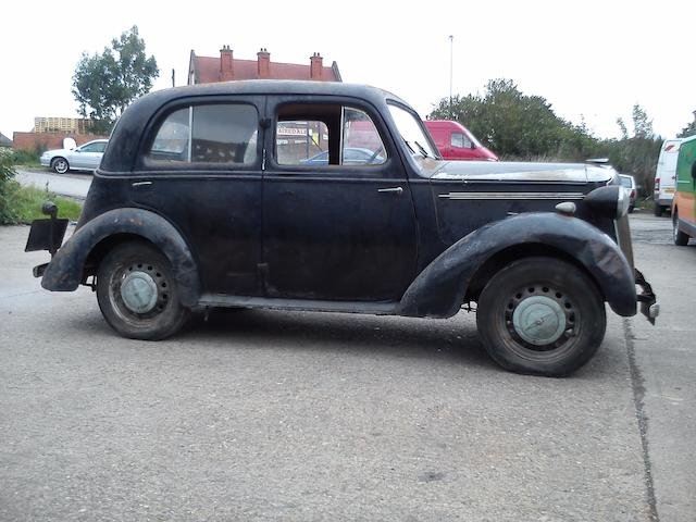 10,034 miles from new,1939 Vauxhall 10/4 Saloon  Chassis no. H1B 30556 Engine no. H 34739