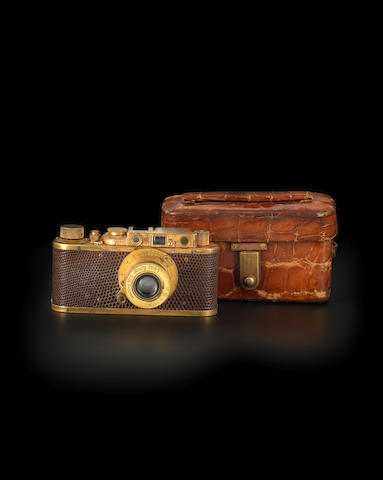 An extraordinarily rare Leica Luxus II, 1932,