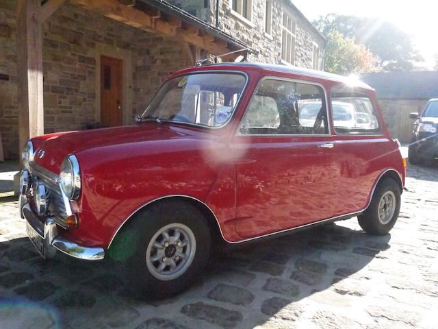 1969 Austin Mini Cooper S Sports Saloon  Chassis no. CA.2SB.1300957 Engine no. 53391