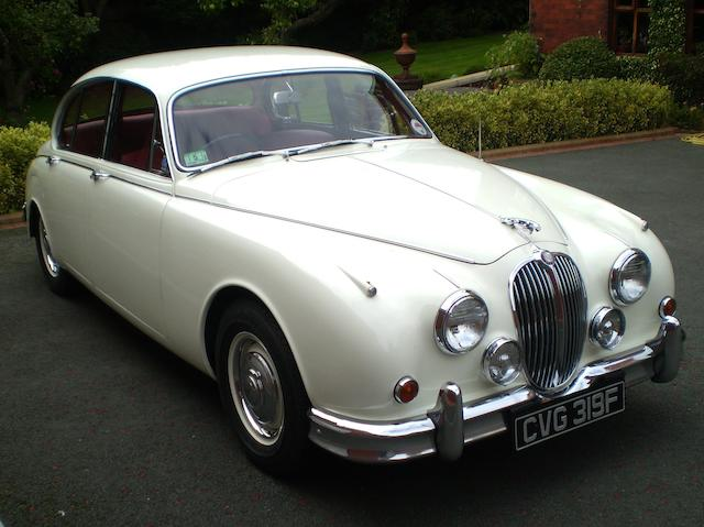 The fourth from last built,1967 Jaguar Mk2 3.8-Litre Saloon Chassis no. 235379BW Engine no. LE4257-8