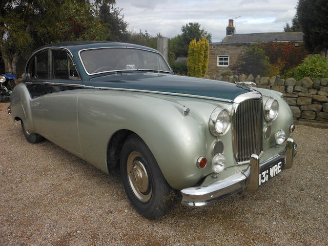 c.1958 Jaguar MkVIII Saloon Chassis no. 763852DN Engine no. NA2292-8