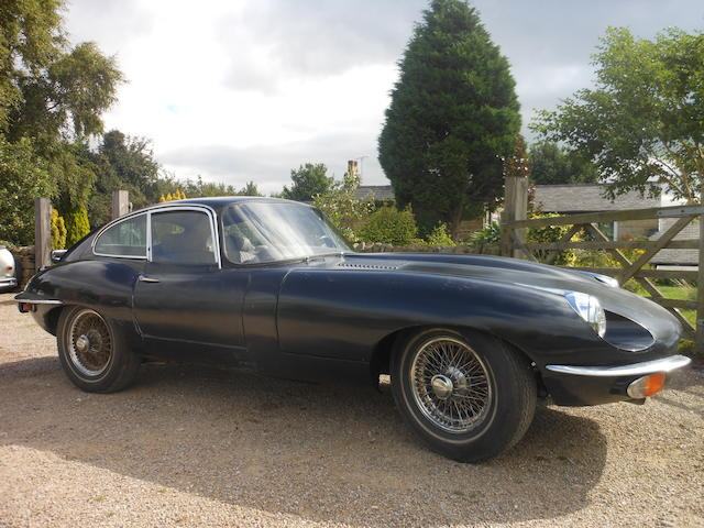 Left-hand drive,1969 Jaguar E-Type Series 2 Coupé  Chassis no. 1R25939 Engine no. 7R5813-9