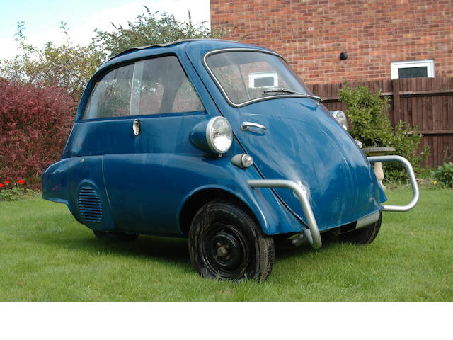 Left-hand drive,c.1959 BMW Isetta 300 Microcar Project  Chassis no. 318308 Engine no. 318308