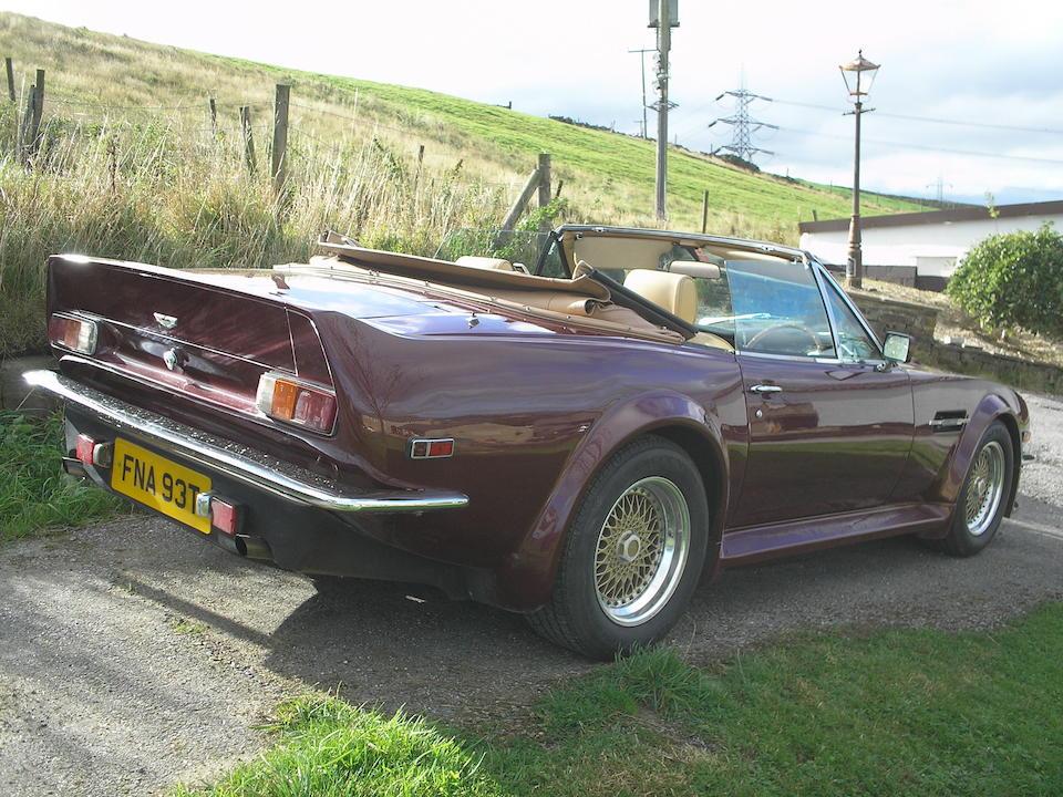1978 Aston Martin V8 'Volante' Chassis no. V8/12018/RCAS Engine no. V/540/2018/S