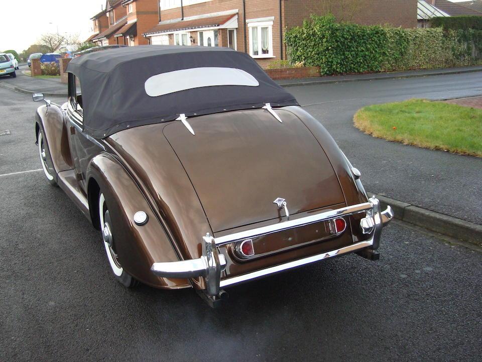 1952 Riley RMA 1½-Litre Drophead Coupé  Chassis no. 42S20407 Engine no. 13528