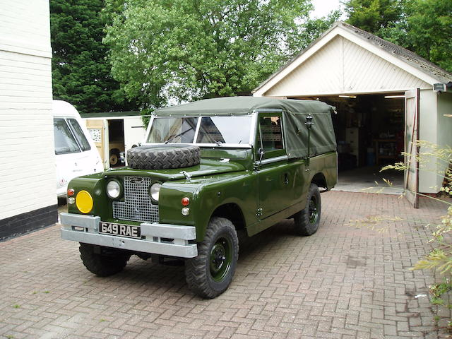 "1967 Land Rover Series 2A 109"" 'FFR' Military Radio Vehicle  Chassis no. 25112034C Engine no. 25277632G"
