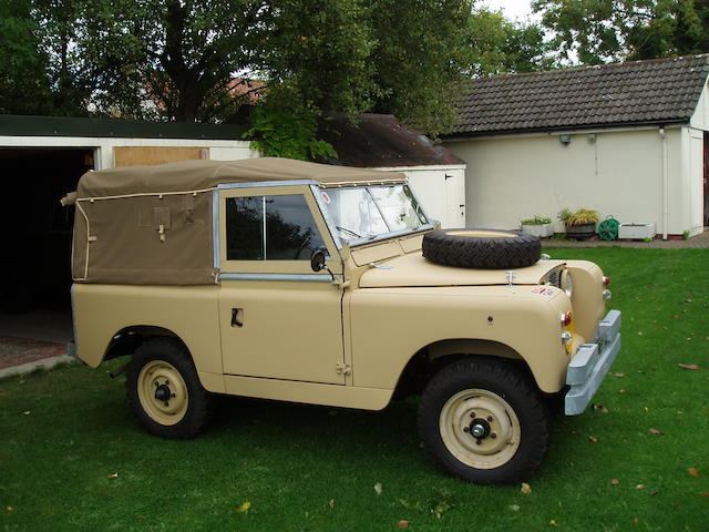 "1965 Land Rover Series 2A 88"" Military General Service Vehicle  Chassis no. 24426090B Engine no. 25113426B"