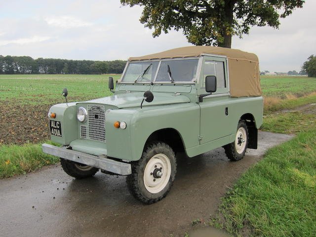 """1961 Land Rover Series 2A 88""""  Chassis no. 146100999 Engine no. 17H21137C"""