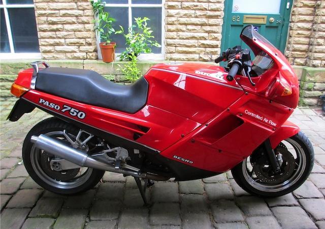 1988 Ducati 748cc Paso Frame no. ZDM750P 751879
