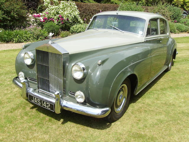 1956 Rolls-Royce Silver Cloud Saloon  Chassis no. SYB132 Engine no. SB66