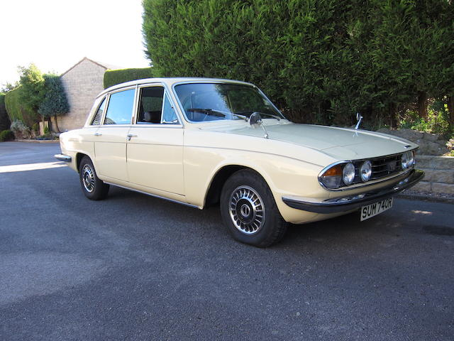 1976 Triumph 2500TC Mk2 Sports Saloon  Chassis no. MM32868DLO