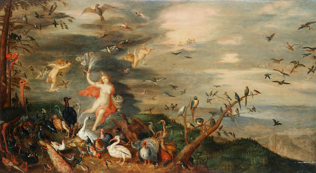 Workshop of Jan Brueghel the Elder (Brussels 1568-1625 Antwerp) An Allegory of Air