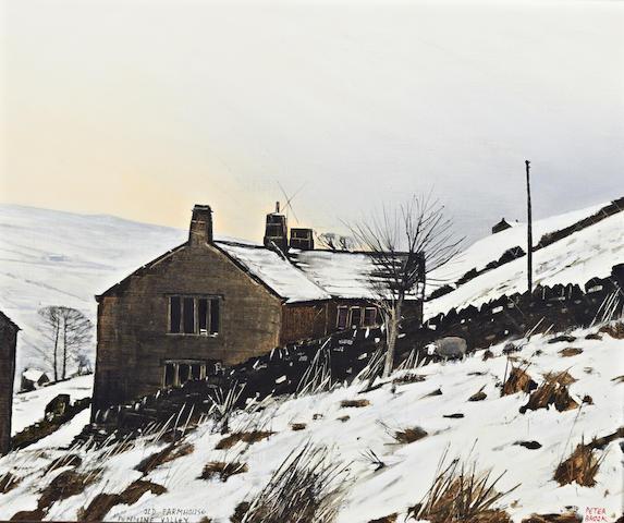 Peter Brook (British, 1927-2009) 'Old Farmhouse, Pennine Valley'