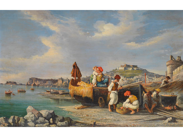 Consalvo Carelli (Italian, 1818-1900) Napoli