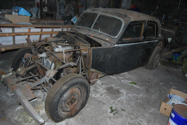 c.1953 Riley 1½-Litre RME Sports Saloon Project  Chassis no. RME 42S 20772 Engine no. RMA 10904