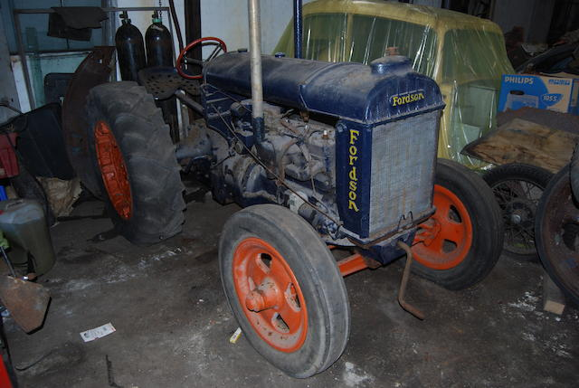 c.1944 Fordson Model N Tractor Project  Chassis no. TBC Engine no. N96280