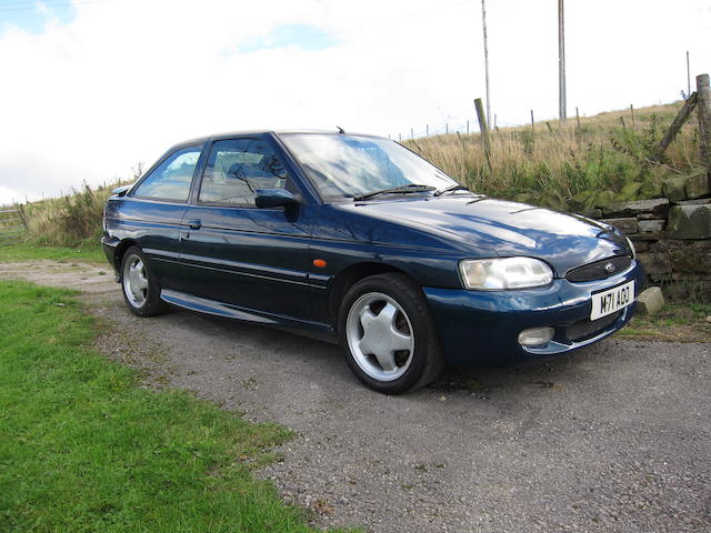 1995 Ford Escort RS2000 Sports Hatchback  Chassis no. WFOBXXGCABSY65523 Engine no. SY65523