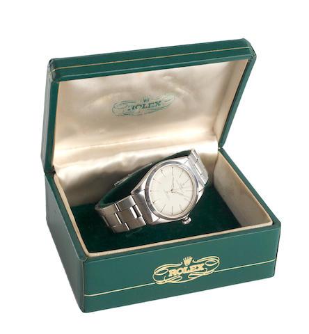 Tudor: A gentleman's Oyster 'Elegante' stainless steel wristwatch