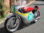 c.1964 Honda CB160 RC162 Replica Racing Motorcycle Engine no. CB160E-1011119