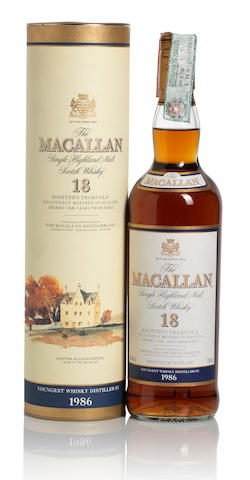 The Macallan-1986-18 year old