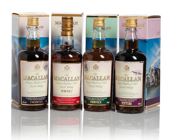 The Macallan Vintage Travel Collection-20 year old (1)   The Macallan Vintage Travel Collection-30 year old (1)   The Macallan Vintage Travel Collection-40 year old (1)   The Macallan Vintage Travel Collection-50 year old (1)