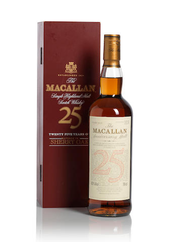 The Macallan Anniversary-25 year old