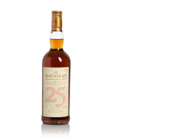 The Macallan Anniversary-1961-25 year old