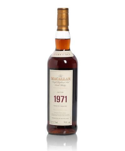 The Macallan Fine & Rare-1971-30 year old