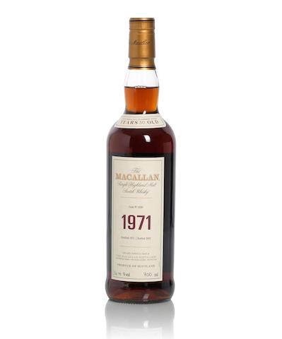 The Macallan Fine & Rare-1971-30 year old