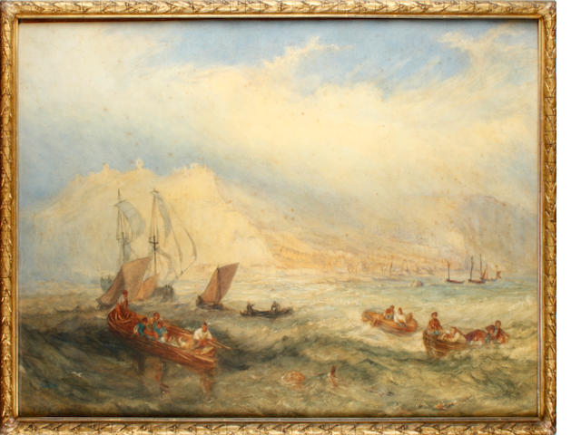 Follower of Joseph Mallord William Turner, RA (British, 1775-1851) Folkestone View