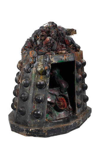 Doctor Who: Believed From Rememberance Of The Daleks - A Destroyed Dalek, 1988,