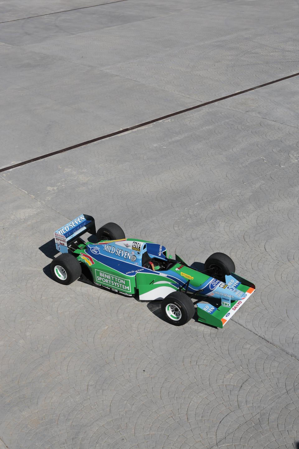 The ex-Michael Schumacher, 1994 FIA Formula 1 World Championship-Winning,Benetton-Cosworth Ford B194 Formula 1 Racing Single-Seater  Chassis no. B194-05