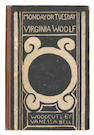 WOOLF (VIRGINIA) Monday or Tuesday... with Woodcuts by Vanessa Bell, FIRST EDITION, 1921