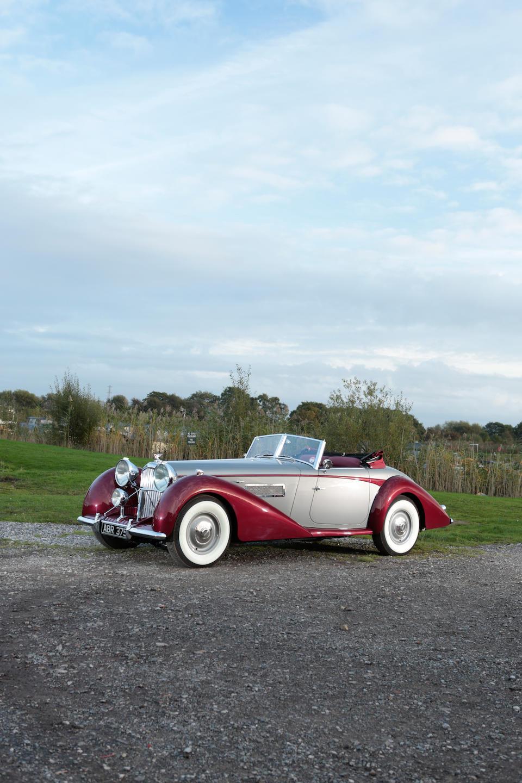 1949 Bentley MkVI 6¾-Litre Drophead Coupé  Chassis no. B122DA Engine no. 14901