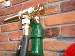 "A Vickers Armstrong Model ""C"" hand cranked one gallon petrol pump,"