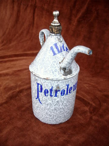 An unusual one litre priming tap kettle, circa 1900,