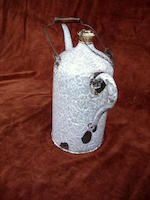 A 2 litre priming tap kettle, circa 1900,