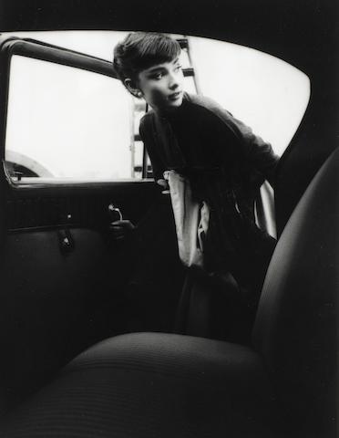 Robert Hanley 'Bob' Willoughby (American, 1927 - 2009): Audrey Hepburn, Paramount Studios, 1956,